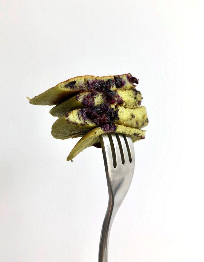 Comfort food healthy vegan pancaces